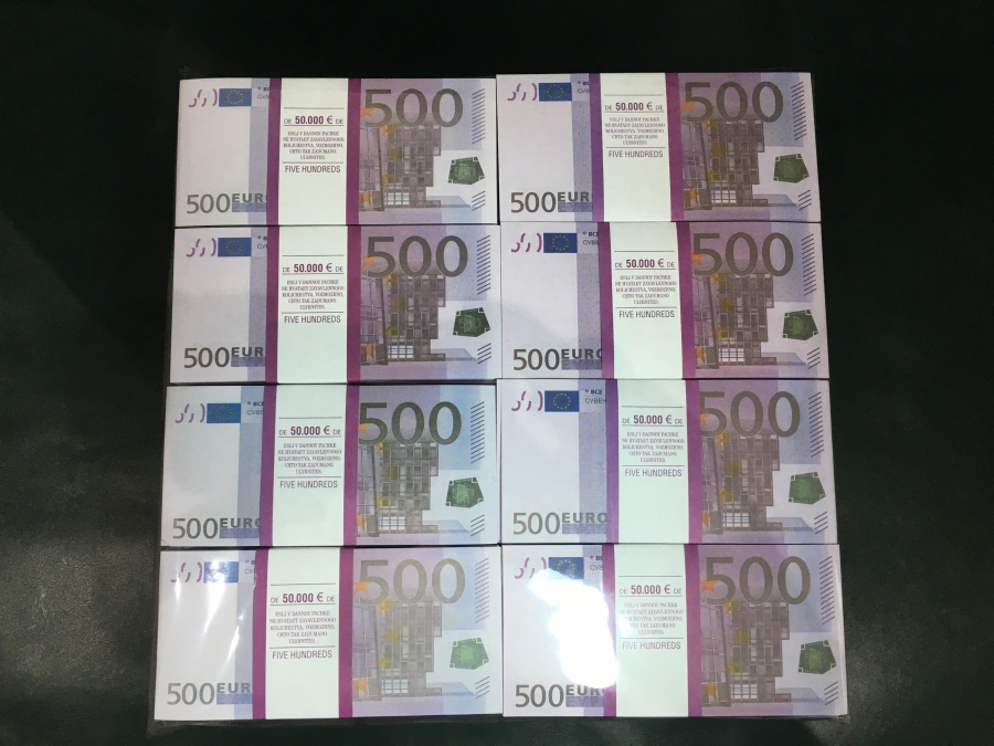 500 prop money packs of 500 euro
