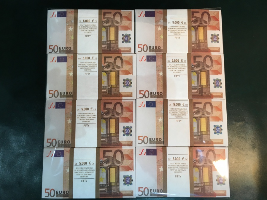 500 prop money packs of 50 euro