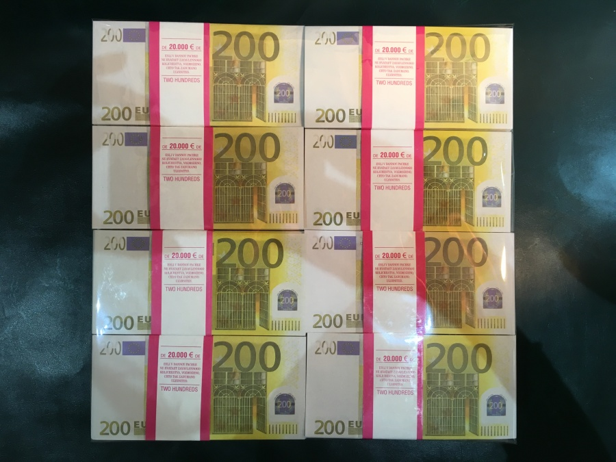 500 prop money packs of 200 euro