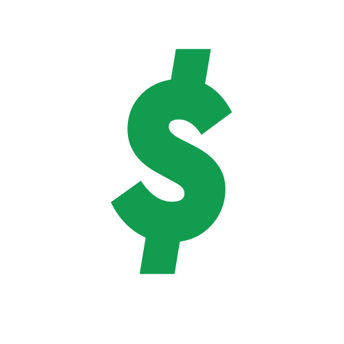 Dollar money sign