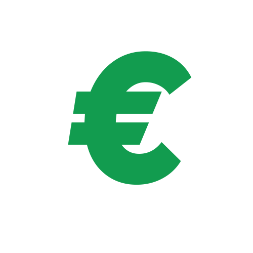Euro money sign