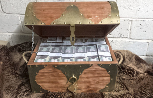 buy 100 Egyptian pounds Prop Money Pirate Chest