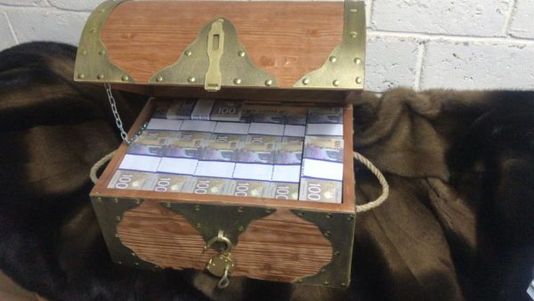 buy NEW 100 Canadian dollars Prop Money Pirate Chest