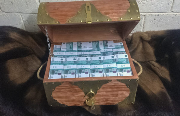 buy 2000 Russian rubles Prop Money Pirate Chest