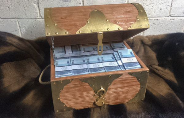 buy 20 euro Prop Money Pirate Chest