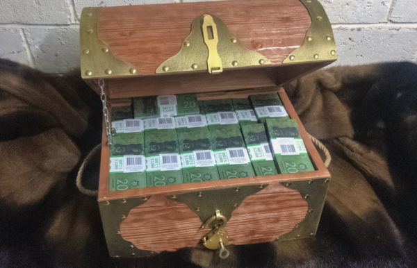 Buy 20 Canadian dollar Prop Money Pirate Chest