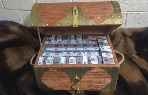 buy 25 USSR rubles Prop Money Pirate Chest