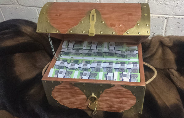 buy 3 USSR rubles Prop Money Pirate Chest