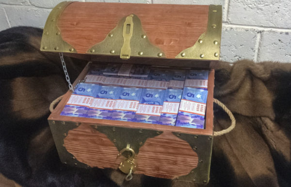 Buy 5 Canadian dollar Prop Money Pirate Chest
