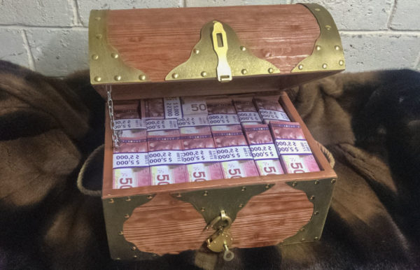 buy 50 Canadian dollar Prop Money Pirate Chest